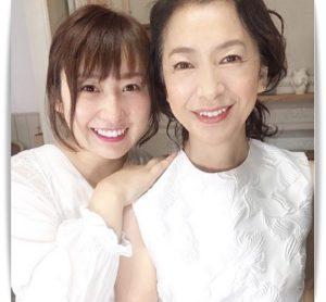 高橋惠子と娘・祐奈