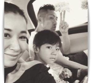 鈴木紗理奈と家族
