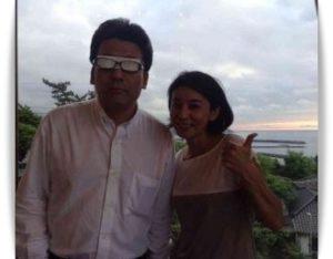 高嶋ちさ子と盛田賢司