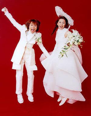 西川貴教と吉村由美の結婚画像