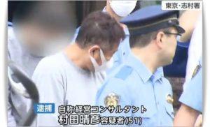 村田晴彦逮捕の瞬間