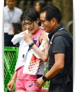 武冨豊監督と前田穂南