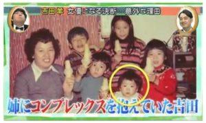 吉田羊の子供時代画像