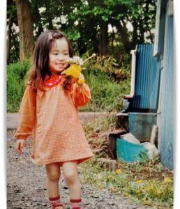 福原遥の幼少期画像