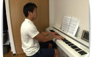 福岡堅樹とピアノ
