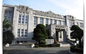 福岡高校の外観
