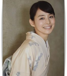 石田ゆり子の和服姿