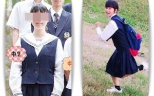 森菜七の制服比較画像
