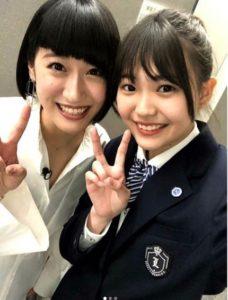 三阪咲の高校時代の制服