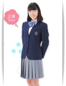 堺リベラル高校の制服