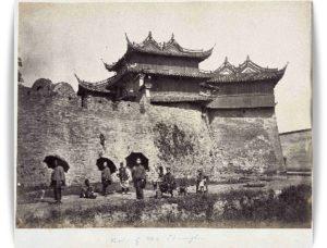 戦前の首里城