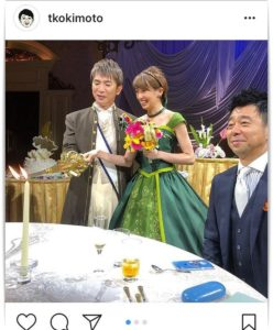 濱口優と南明奈の結婚式