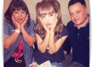 藤田ニコルの両親