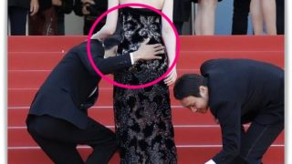 東出昌大がカンヌ映画祭で唐田えりかのお尻を触る画像
