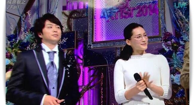 櫻井翔と綾瀬はるかのベストアーティスト