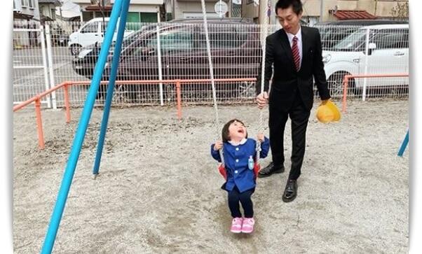 遠藤雄弥と子供の画像