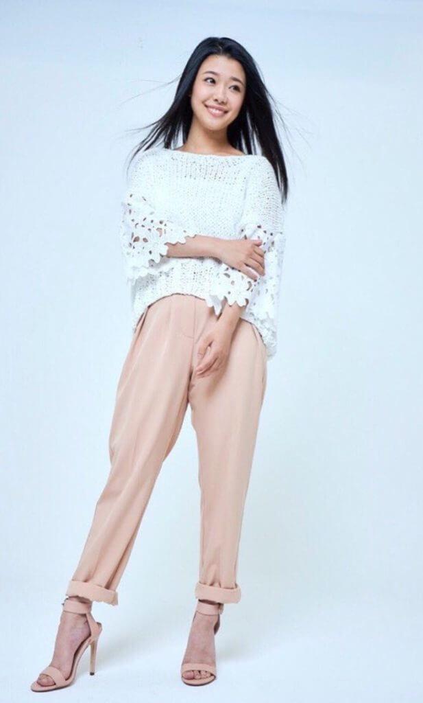亀田姫月モデル画像