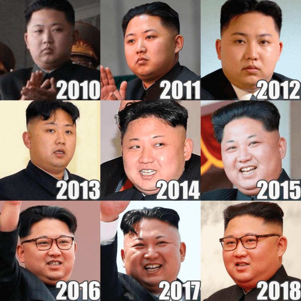 金正恩の顔変化の歴史