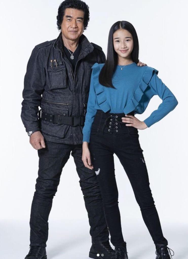 藤岡弘と娘の天音