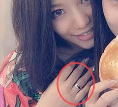 中居正広と武田舞香の指輪匂わせ画像