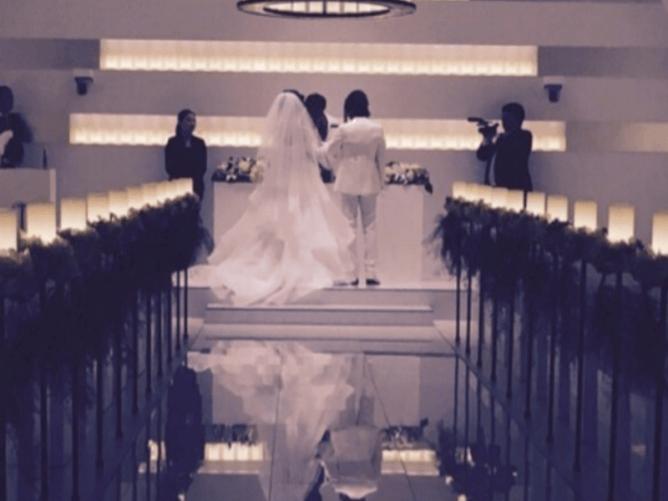 ナスDと森崎友紀の結婚式