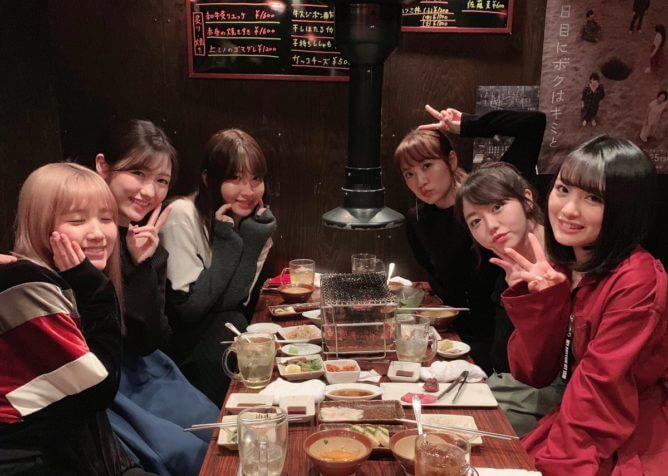 2018年渡辺麻友が参加したプロダクション尾木の忘年会