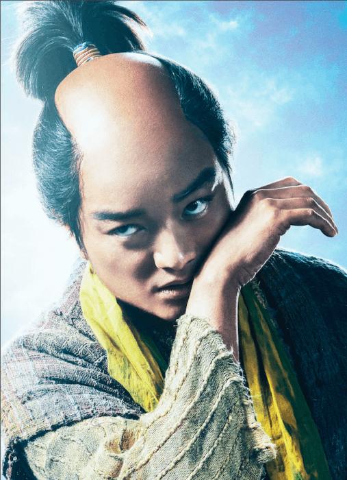 染谷将太演じる織田信長