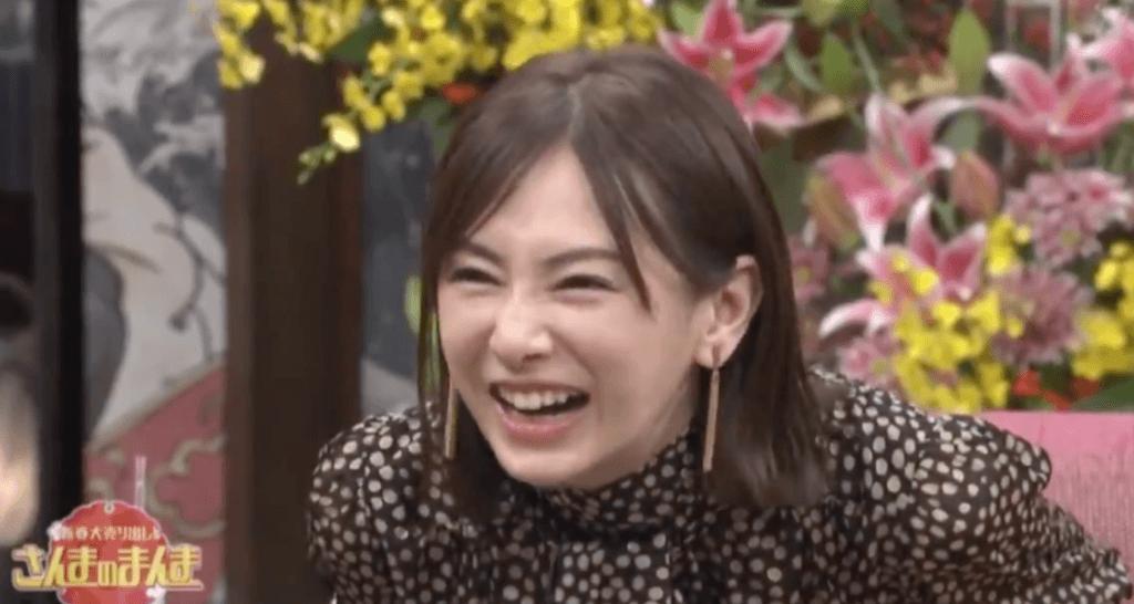 笑う北川景子の画像